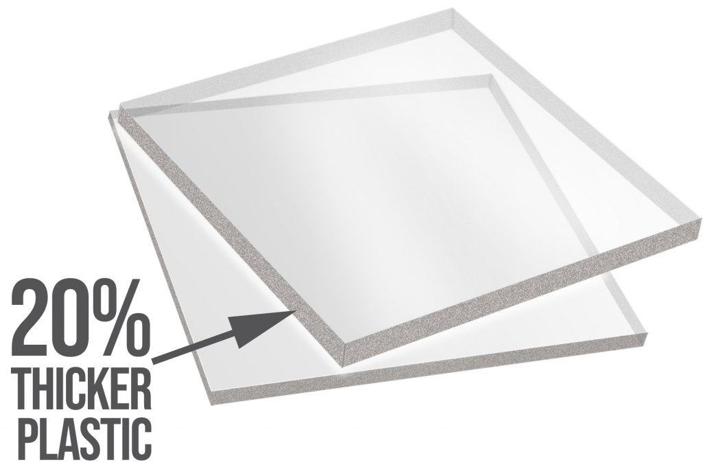 diagram showing plastic WellExpert uses for its window well covers