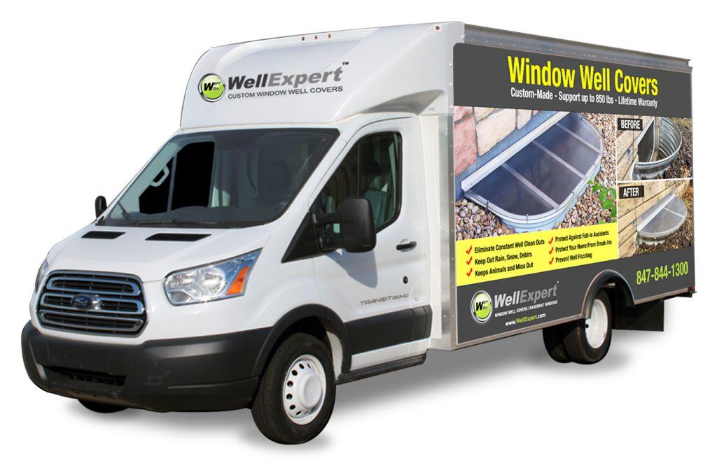 WellExpert on-site service vehicle
